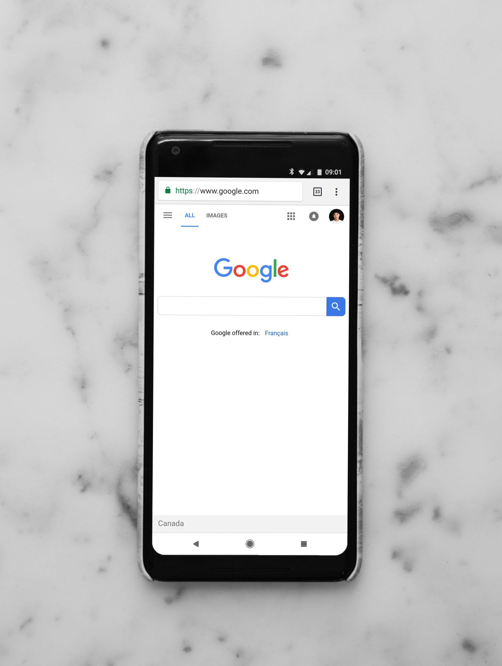 Google Suchmaschinen