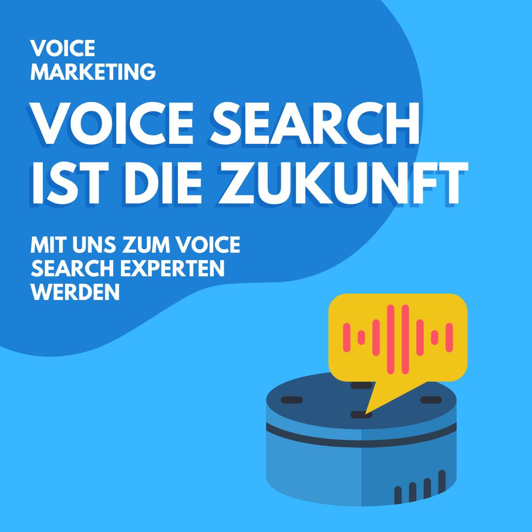 Voice Search ist die Zukunft der Suche